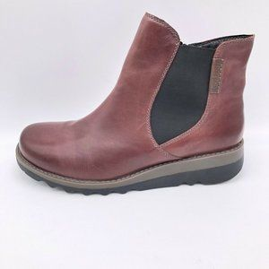 Josef Seibel Womens Lina 05 Ankle Boots Brown NEW
